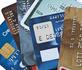 panel de cartes de crédit
