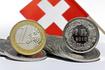 un euro et un franc suisse
