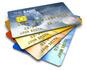 Eventail de cartes de crédit permanent