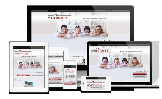 vousfinancer.com sur tous les types d'écrans !