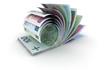 ensemble de billets de banque