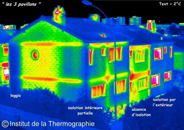 Analyse thermographique des immeubles